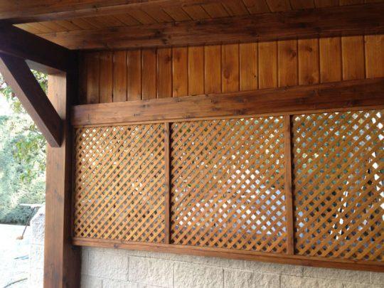 Celosía de madera 14