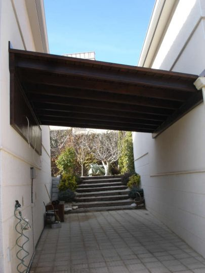 Porche de madera 11