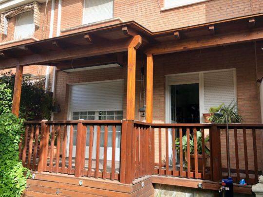 Porche de madera 12