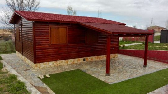 Porche de madera 19