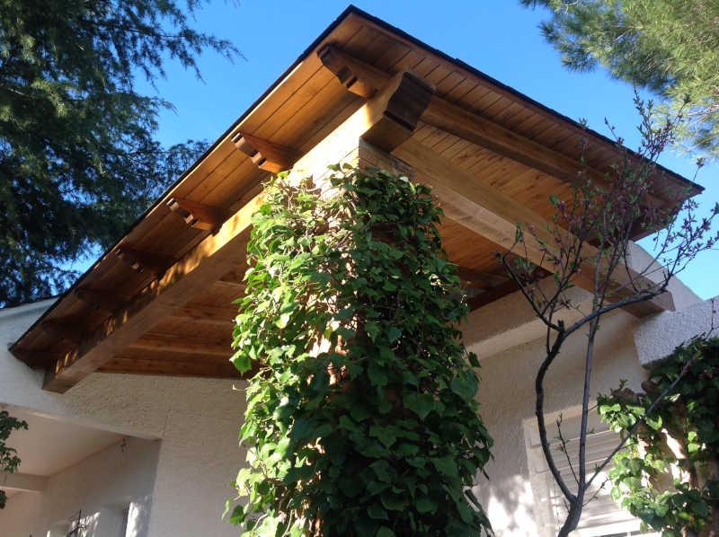 Porche de madera 2
