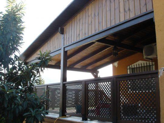 Porche de madera 29