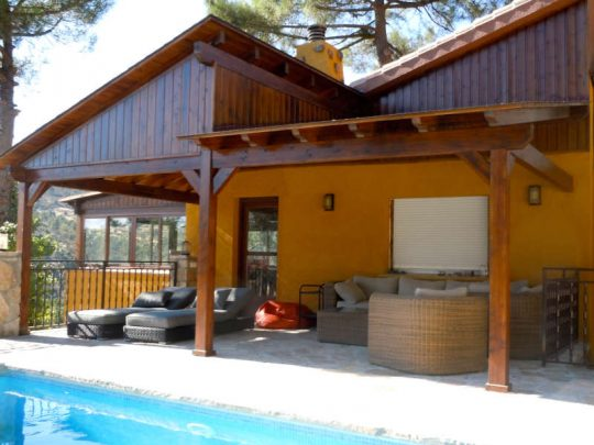 Porche de madera 3