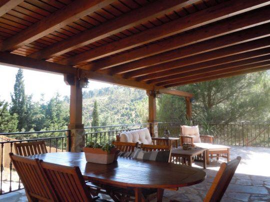Porche de madera 31