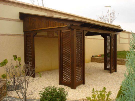 Porche de madera 32