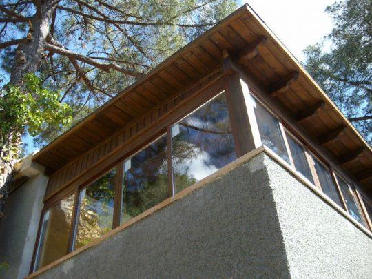 Porche de madera 34