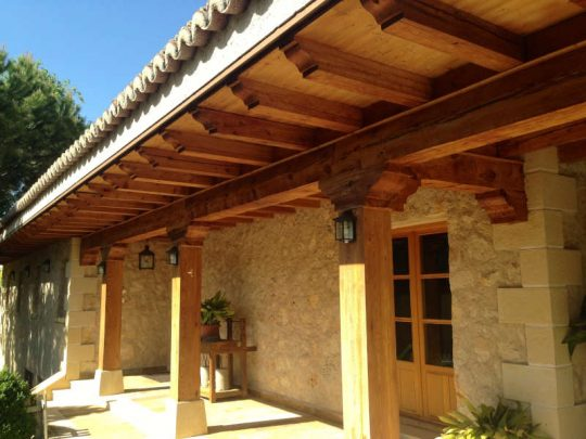 Porche de madera 35