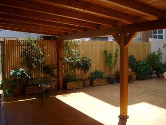 Porche de madera 4