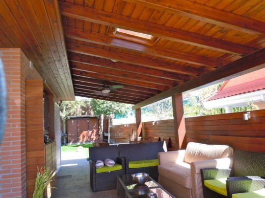 Porche de madera 45