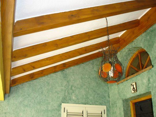 vigas de madera decorativas