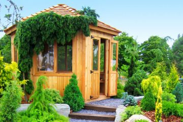 Caseta de madera a medida