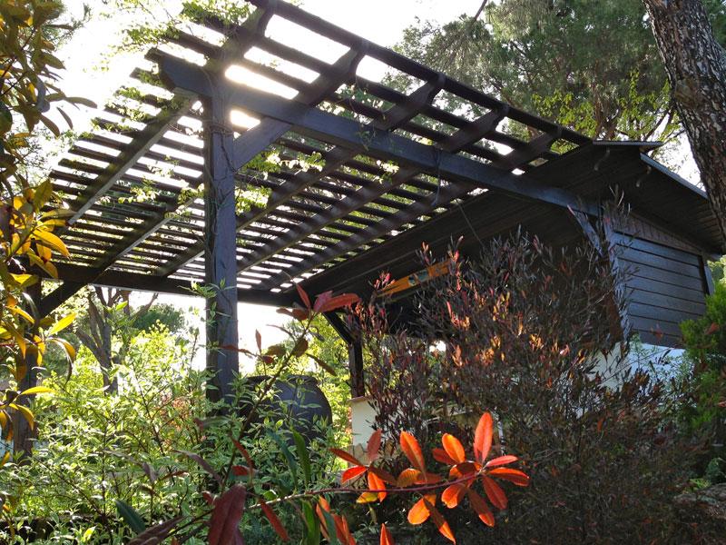 Ideas de pérgolas para jardín