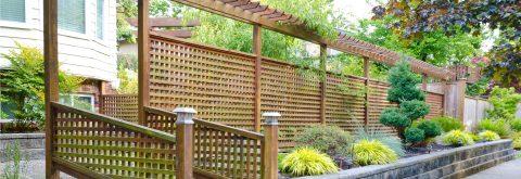 Celosías de madera para exterior