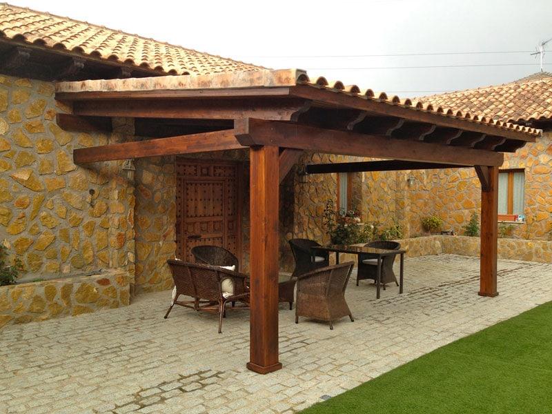 Las mejores ofertas de porches de madera Madrid