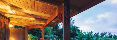 Porches de madera a medida